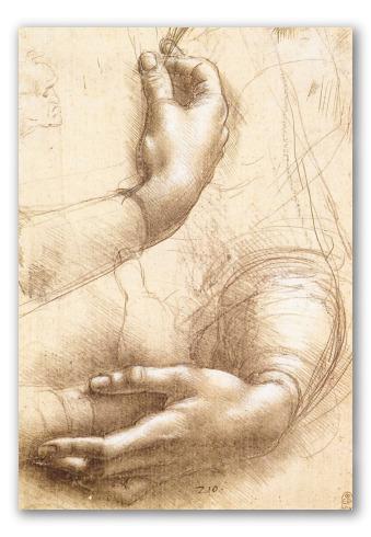 Estudo de Mãos e Braços