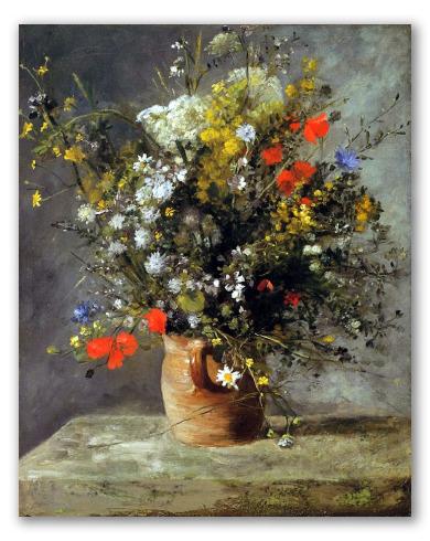 Jarra de Flores 1886