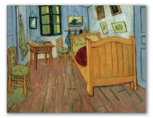 Quarto de Vincent em Arles