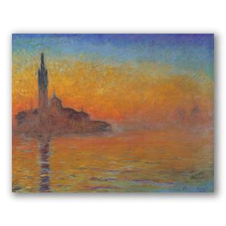 Crepúsculo em Veneza