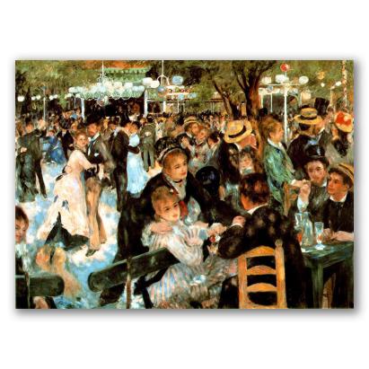 Baile em Moulin de la Galette